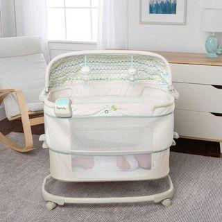 Ingenuity Dream & Grow Bedside Bassinet Deluxe – Blakely <In Very Good Condition>