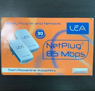 Lea NetPlug85+ Twin Powerline Adapters