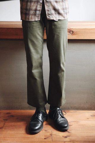 Army Pants Vintage 軍綠 工作褲 古著 美軍 公發