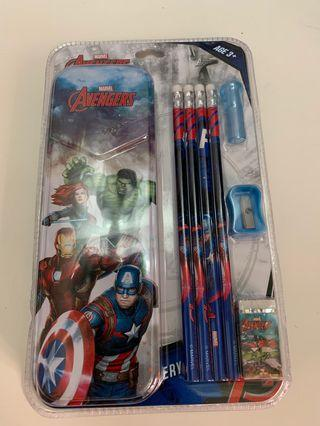 Avengers文具套裝(made in Thailand🇹🇭)歡迎代購