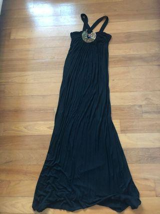 Black Long maxi Dress