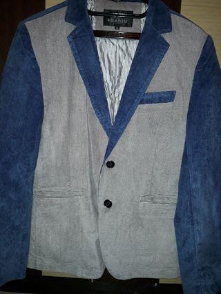 Jual Murah Jas Blazer Korea Import Original Biru Abu