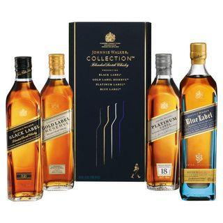 Johnnie Walker whisky collection 4 btl 20cl