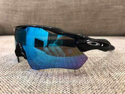 Oakley™️ RADAR EV Path Custom (Polished Black/Sapphire Iridium)