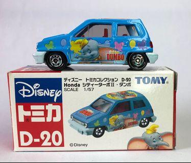 Tomica D-20 Dumbo 小飛象 Honda City Turbo