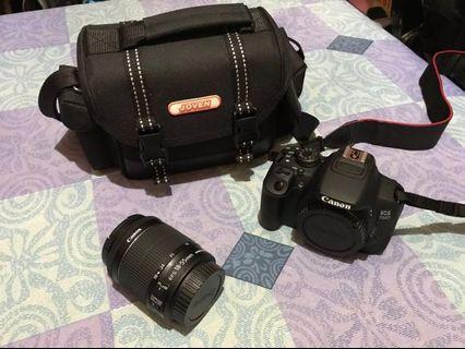 🚚 Canon 700D+kit鏡+相機包+腳架(九成新)