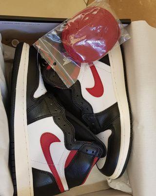 Air Jordan 1 High OG Black Gym Red
