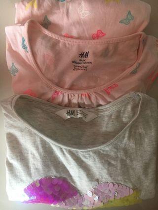 🚚 Girl Tee and dress bundle set