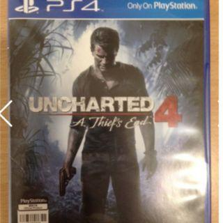 PS4 Video Game 'Uncharted 4 A Thief's End '