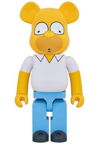 400% Homer Simpson bearbrick Be@rbrick Medicom