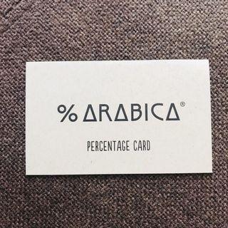 Arabica coffee stamp card 已儲兩個印仔 包平郵
