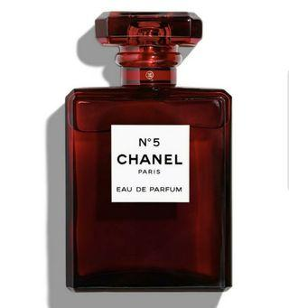 🌈$100 OFF!🌈 2500 bottles worldwide limited edition RED 100ml EDP chanel number 5 L'eau perfume