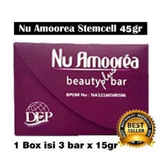 Nu Amoorea Beauty plus bar 45 gr 1 box isi 3 bar 15 gr