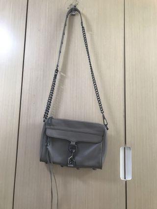 Rebecca Minkoff grey cross body bag 灰色斜揹袋