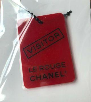 Chanel limited edition Le Rouge bagcharm necklace keychain luggage Tag