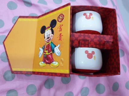 Disney Collectibles Chinese tea Prosperity ceramic cups