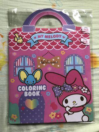 My Melody Colouring Book