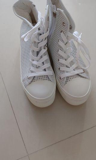 結婚厚底白鞋