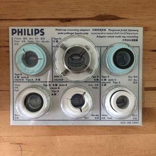 Philips filter-Multi-tap mounting adapters