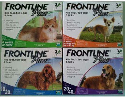 Frontline plus 貓狗滅蚤