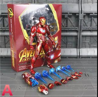 🚚 Iron Man Mark 50 Figurine (PO)