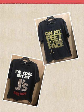 MJ shirts
