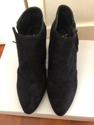 As Know As Ankle Boots 黑色