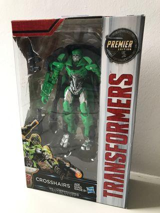 🚚 Transformers the last knight crosshairs premier edition