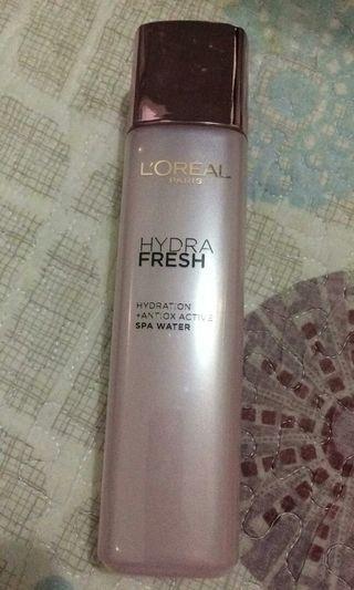 Loreal 欧莱雅水清新葡萄籽SPA柔膚水 歐莱雅水清新3合1智慧保湿精華水