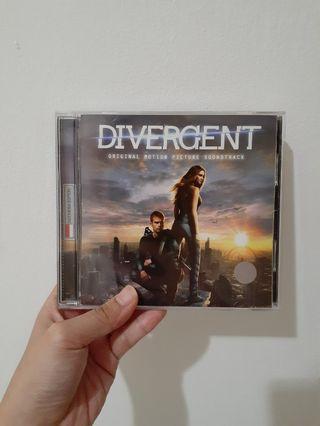 CD Soundtrack film Divergent