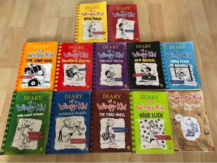 🚚 Diary Of A Wimpy Kid (12books)