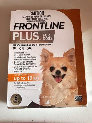 Frontline plus 細狗