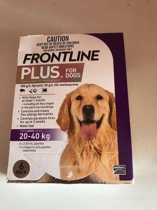 Frontline plus 大狗