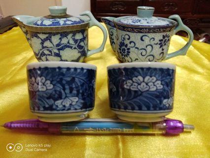 50-60年代花茶杯