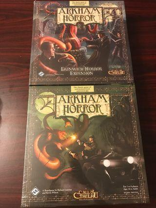 Arkham Horror + Expansion