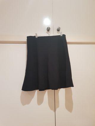 SABA Black Skater Skirt Size S/8