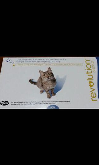 Revolution 貓滅蚤滅蟲