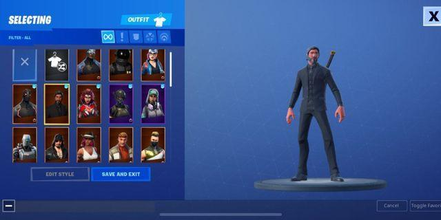 Rare Season 3 FORTNITE account with battle pass and galaxy skin!