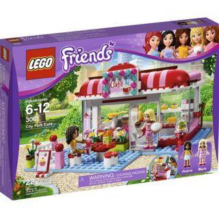 LEGO 3061 Friends City Park Cafe Box New