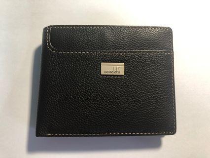 🚚 Condotti dark brown wallet