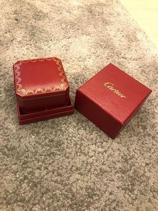🚚 Cartier品牌戒指盒