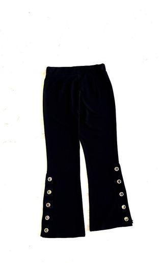 Sexy Slit black pant