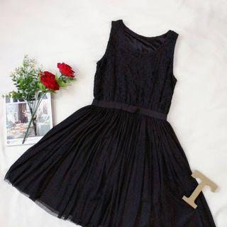 Lacey Elegant Black Dress [premium quality]