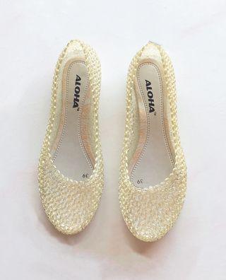 Flat Jelly Shoe