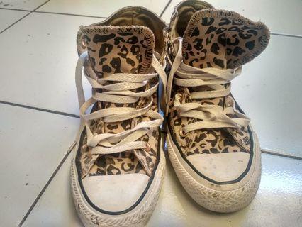 Converse High (Lawas) motif Leopard