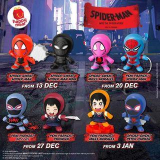 spider man happy meal
