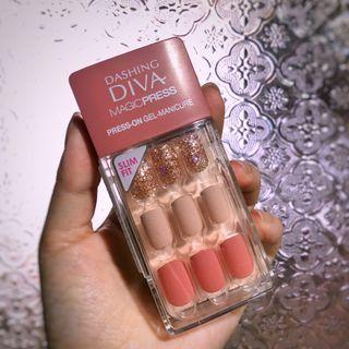 全新💕Dashing Diva 光療美甲片 #羊絨玫瑰