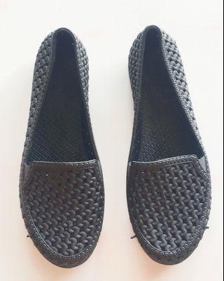 Black Jelly Shoe