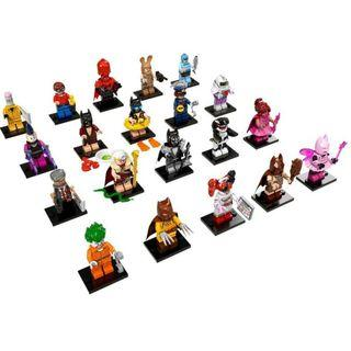 Lego 71017 Batman Minifigures Series Full set of 20 Free Registered Mail Brand New Repacked Sale