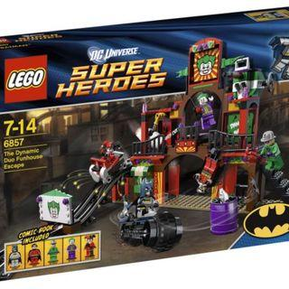 Lego 6857 DC Super Heroes The Dynamic Duo Funhouse Escape